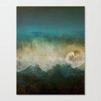 Lost @ Sea Canvas Print