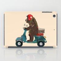 Scooter Bear iPad Case