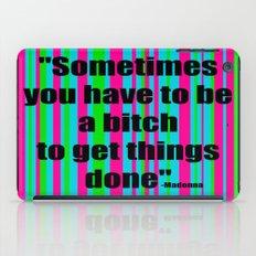 She Said... iPad Case