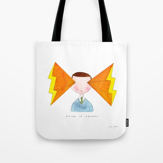 visions of radness Tote Bag