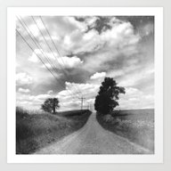 Art Print featuring The Road Not Chosen by Olivia Joy StClaire
