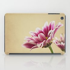 Flowers are the music of the ground iPad Case