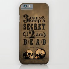 Benjamin Franklin Illustrated Quote Slim Case iPhone 6s