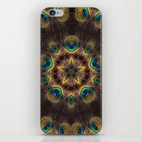 The Eye of the Peacock iPhone & iPod Skin