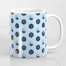 Blue Cubes Mug