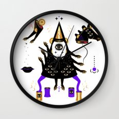 PARTY PARTY PARTY Wall Clock