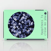 Happiness is close to you. iPad Case