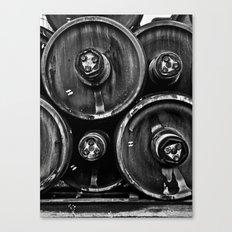 Wheel Stack Canvas Print