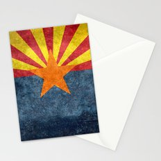 The State flag of Arizona, the 48th state! Stationery Cards
