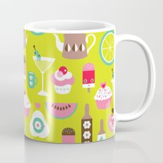 Lime cocktail party and candy kitchen food print Mug