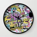 The Adventures of Rad Story Wall Clock