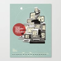 The Apple Story Canvas Print