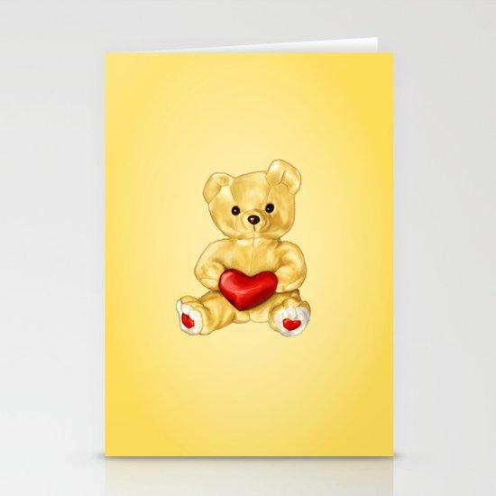 Teddy Bear Hypnotist Stationery Card