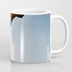 Wooden Brushed Metal Mug
