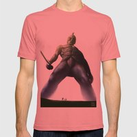 Talos Mens Fitted Tee Pomegranate SMALL