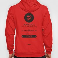 Seneca Quote - Most powerful is he who has himself in his own power. Hoody