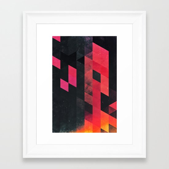 ylmyst tyme Framed Art Print