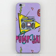 pump the jam iPhone & iPod Skin