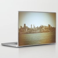 san francisco Laptop & iPad Skins featuring San Francisco by Christine Workman