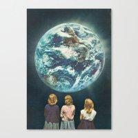 Full Earth () Canvas Print