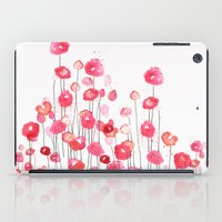 Poppies In Pink iPad Case
