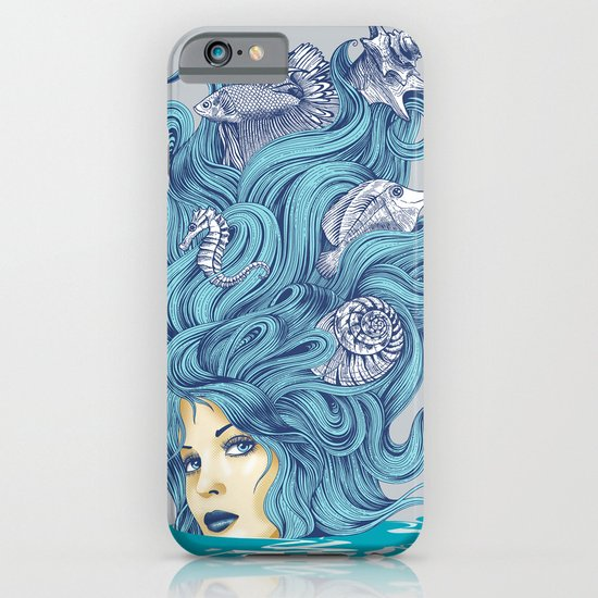 Ocean Queen iPhone & iPod Case
