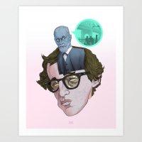 Id, Ego & Superego Of Wo… Art Print