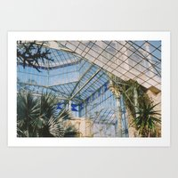 Glasshouse Art Print