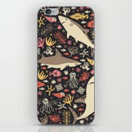 iPhone & iPod Skin featuring Oceanica by Anna Deegan