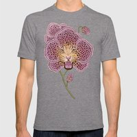 Wild Orchid Mens Fitted Tee Tri-Grey SMALL