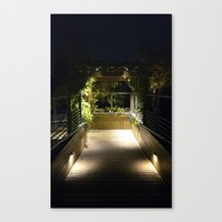 Night Torret  Canvas Print