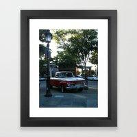Old Truck Framed Art Print