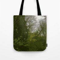 FOX IN A COOL GREEN WORL… Tote Bag