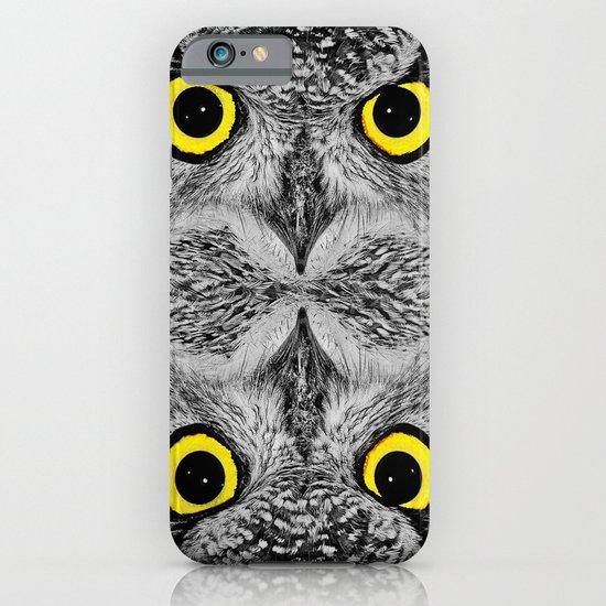 OWL PORTRAIT iPhone & iPod Case