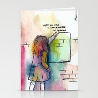 Where You Stand Is Simpl… Stationery Cards