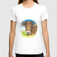 cow T-shirts featuring cow by Li-Bro