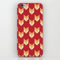 Mr. Fox Pattern iPhone & iPod Skin