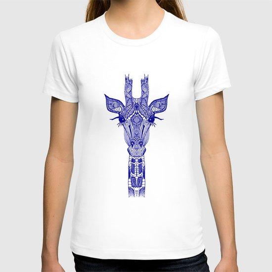 GIRAFFE BLUE T-shirt