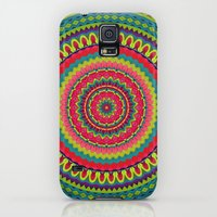 Galaxy S5 Cases featuring Mandala 99 by Patterns of Life