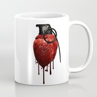 Heart Grenade Mug