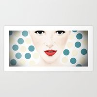 DOT BY DOT Art Print