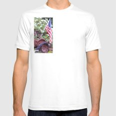 Patriot Mens Fitted Tee SMALL White