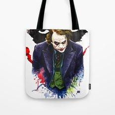 Angel Of Chaos (The Joker) Tote Bag