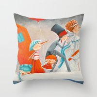 The Company Throw Pillow
