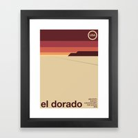 el dorado single hop Framed Art Print