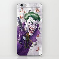 Joker CCXP 2014 iPhone & iPod Skin
