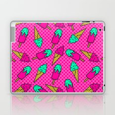 Colorful pattern of ice cream in pop art style Laptop & iPad Skin
