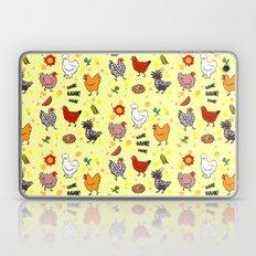 Cute Seamless Chickens P… Laptop & iPad Skin
