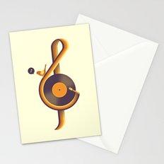 Retro Sound Stationery Cards