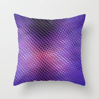 Crystals Reflection Throw Pillow